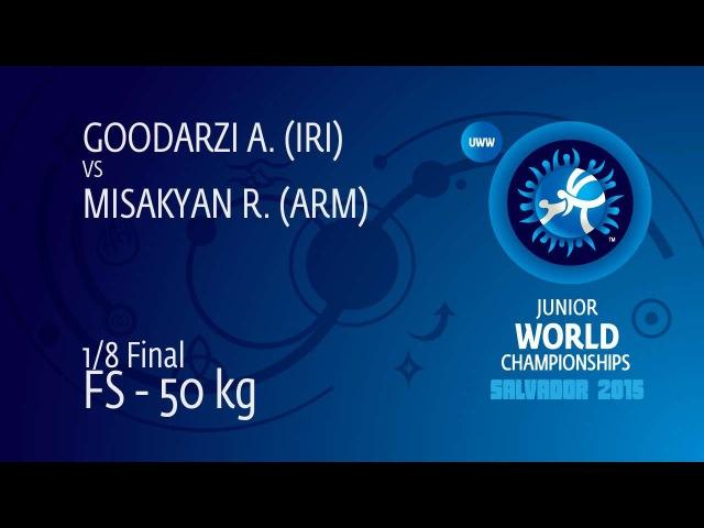 A. GOODARZI (IRI) df. R. MISAKYAN (ARM), 9-4