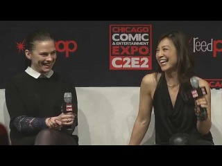 Kickass women of SHIELD at C2E2- Hayley Atwell and Ming Na Wen (Part 2)