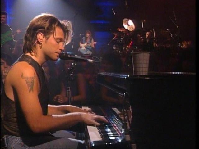 Bon Jovi Bed Of Roses Keep The Faith New York 1992 720p