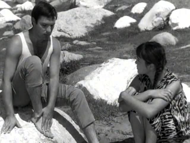Нежность 1967 реж Эльёр Ишмухамедов фрагмент Письма
