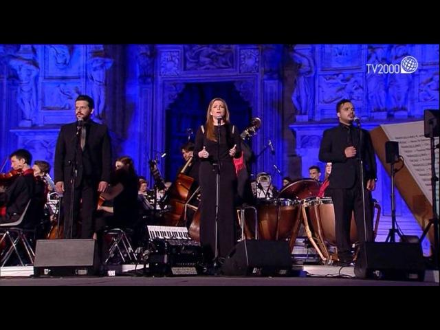 Tania Kassis Islamo Christian AVE Duomo Milan تانيا قسيس الصلاة الإسلامية المس 16