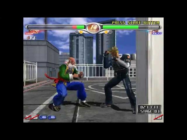 Virtua Fighter 4 Final Tuned Rev d Demul 60 FPS