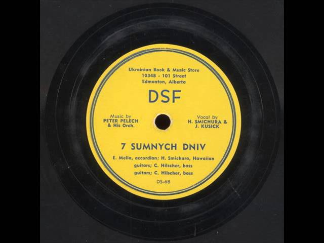 H. Smichura J. Kusick - Сім сумних днів (Seven sad days)