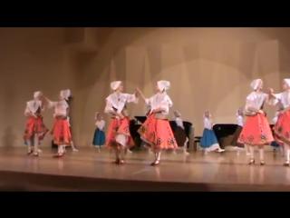 Старинный французский танец бранль old french dance branle