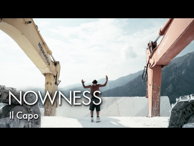 """Ll Capo"""" The Chief a striking look at marble quarrying in the Italian Alps"""