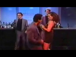 Sylvester Stallone dancing with the Roxbury guys!