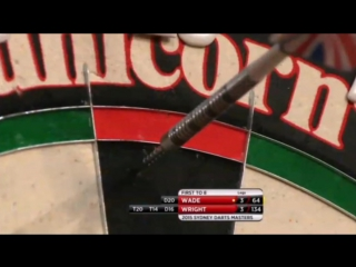 Peter Wright vs James Wade (Sydney Darts Masters 2015 / Quarter Final)
