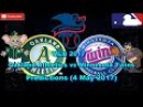 MLB The Show 17 Oakland Athletics vs Minnesota Twins Predictions MLB2017 (4 May 2017)