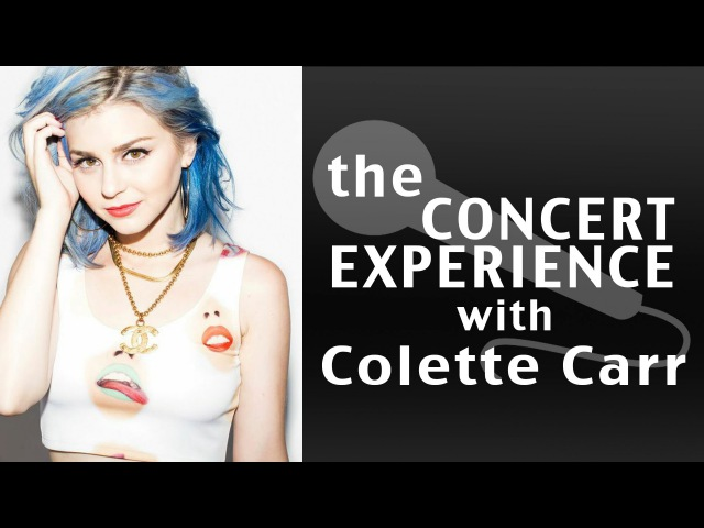 Colette Carr Interview AfterBuzz TV's The Concert Experience