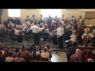 """Кобец Вениамин """"Господи, источник дивный света"""" (камерный оркестр, христианские песни)"""
