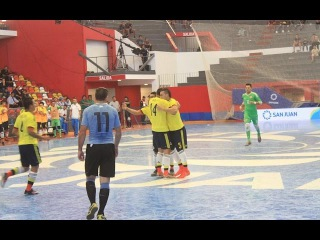 #CopaAmericafutsal Colombia vs Uruguay - #GrupoB #Fecha3