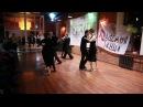 Ученики танцуют Аргентинское танго. 1.11.16г