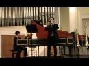 G. P. Telemann : Sonata f-moll for violin(trombone) and Cembalo TWN 41:f1