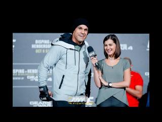 UFC 204: Vitor Belfort Workout Scrum