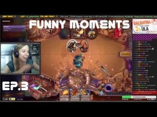 Hearthstone FunTV . Funny moments . Episode 3