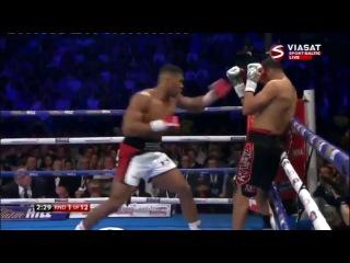 Anthony Joshua vs Eric Molina Highlights HD