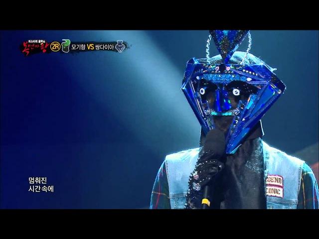 2nd round【TVPP】Chunji(TEEN TOP) - On a night just like tonight, 천지(틴탑) - 오늘 같은 밤이면 @ King of Masked Singer