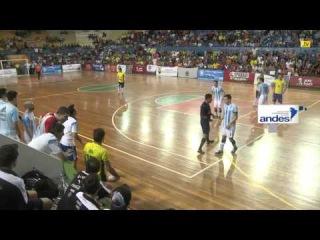 Pasión Futsal TV 2015: Argentina 2 (3) - Brasil (2) (Semifinales - Copa América Ecuador 2015) FUTSAL