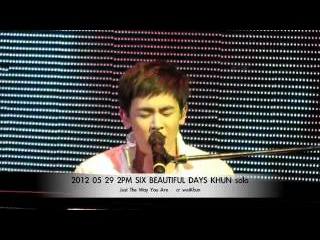 2PM NichKhun Solo Just The Way You Are  2012/05/29 Six Beautiful Day