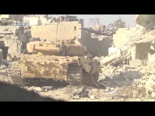 Сирия. Операция по отделению Джобара от Замальки. Осень 2013
