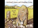Damh The Bard Antlered crown and standing stone