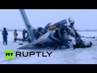 Спасатели обнаружили обломки пропавшего под Оренбургом самолета Ан-2