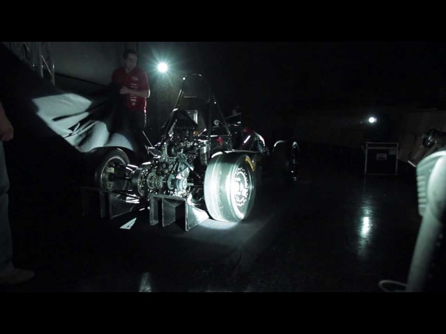 Formula Student FSAE 2013 Infinity Racing Rollout TOMSOI V
