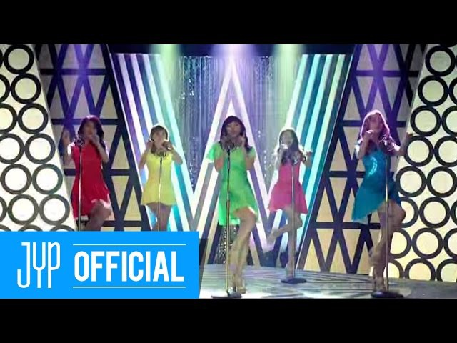 Wonder Girls Nobody ~(あなたしか見えない ~) (Japanese ver.) MV