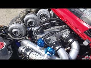 CBR/Castrol Edge RX2 4 rotor 4 turbo start up