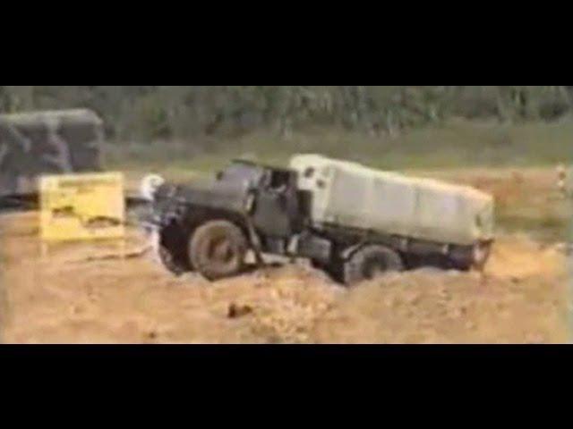 Система испытаний военной автомобильной техники