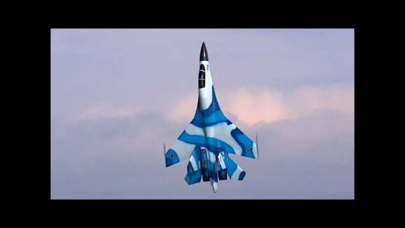WOW STUNNING SUKHOI SU-30 MKK HUGE RC TURBINE SCALE MODEL JET WITH VECTOR THRUST FLIGHT DEMO