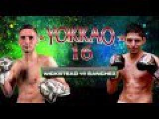 YOKKAO 16 Muay Thai Argentina: Soloman Wickstead vs Nicolas Sanchez @yokkaoboxing