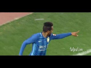Alex Teixeira 2st goal Jiangsu Suning VS Shandong Luneng
