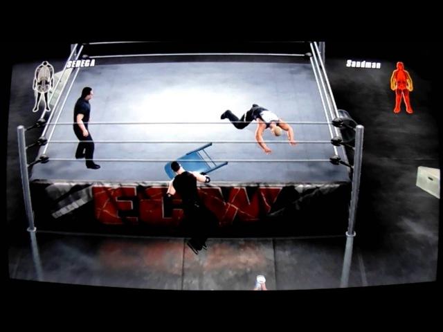 Игра SmackDown vs RAW 2008 на SONY PS3