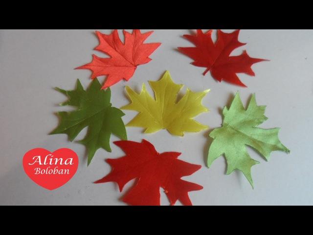 Красивый Осенний Листочек D I Y Hermosa hoja de otoño