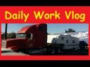 Vlogging Work RV Arrives Shop Lot Problems Car Lockout Video Blog