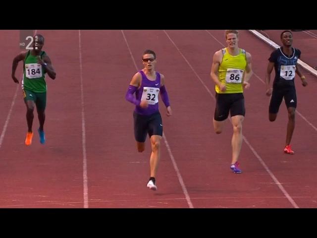 Men's 400m Velenje 20th International Athletic Meeting 2015