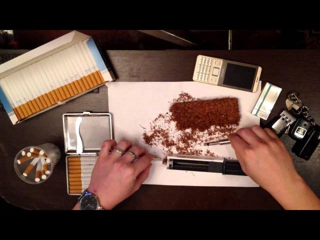 Машинка для набивки гильз \ сигарет Mascotte \ Машинка сигаретная набивочная Mascotte