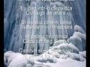 Ducu Bertzi - Scrisoare la inceput de iarna - versuri