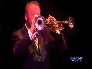"Ian Brock performs ""Zorba the Greek"" on 2 Trumpets!"