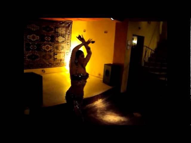 Baladi with sagats - Cristina Antoniadis bellydancer