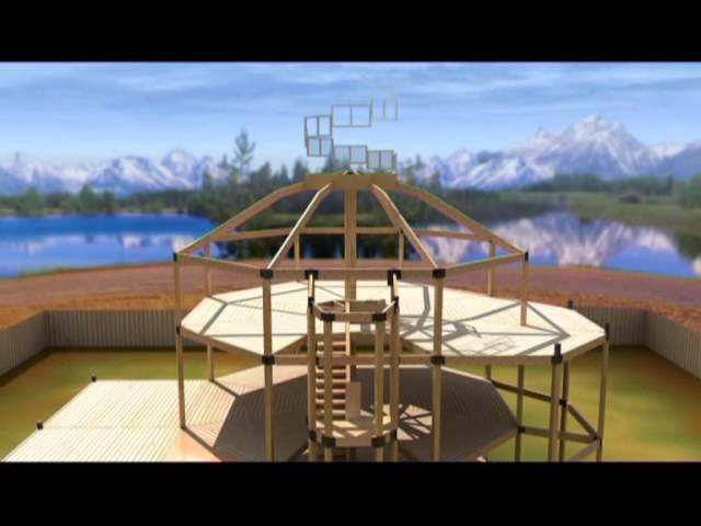 Строительство домов по системе Элевит - Горизонт ТВ