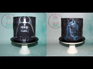 []   Star Wars Themed Cake
