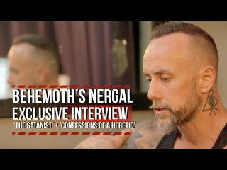 Behemoth's Nergal on 'The Satanist' + 'Confessions of a Heretic'