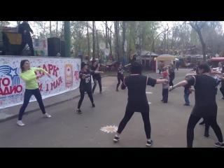 Танцевальный мастер-класс.