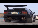 DeTomaso Pantera GT5 Roaring V8 Muscle Sound!