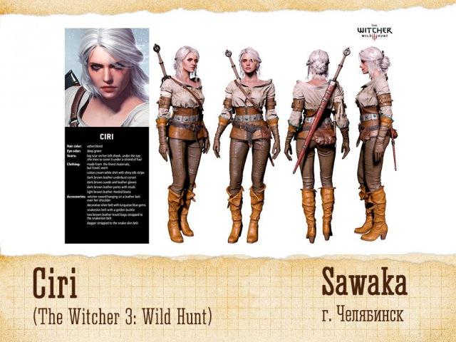 ANIMAU 2016 Sawaka Ciri The Witcher 3 Wild Hunt