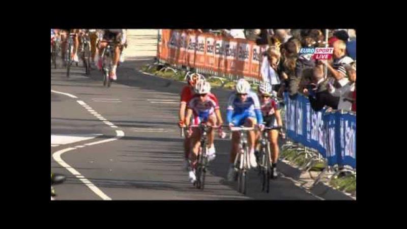 Чемпионат Мира 2012 Женщины групповая гонка www.worldvelosport.com
