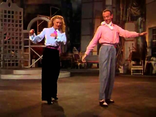 Ginger Fred in Bouncing The Blues(The Barkleys of Broadway,1949)