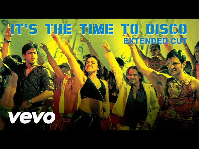 It's the Time to Disco Full Video Kal Ho Naa Ho Shah Rukh Khan Saif Ali Preity Shaan KK
